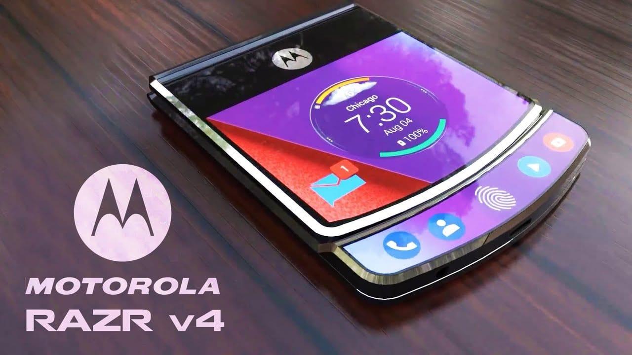 Le téléphone flexible Motorola