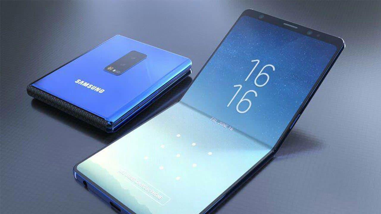 Le nouveau Samsung Galaxy flexible